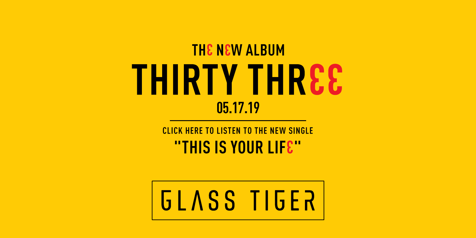 Listen to the new Glass Tiger single